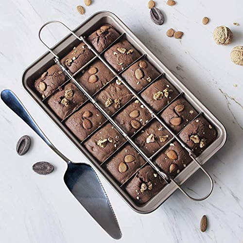 brownie pan with dividers - 5