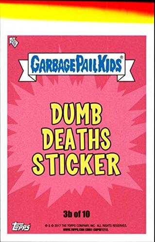 2017 Garbage Pail Kids Adam-Geddon Dumb Deaths #3b Cosplay Jay (Cosplay Shop)