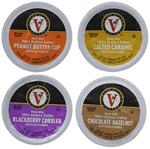 Victor Allen Coffee Compatible with 2.0 Brewers, Variety Pack, 96 Count