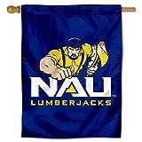 College Flags and Banners Co. NAU Lumberjacks NAU Double Sided House Flag