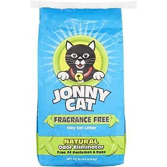 Jonny Cat Arena para gatos sin fragancia, bolsa de 10 libras (10 ...