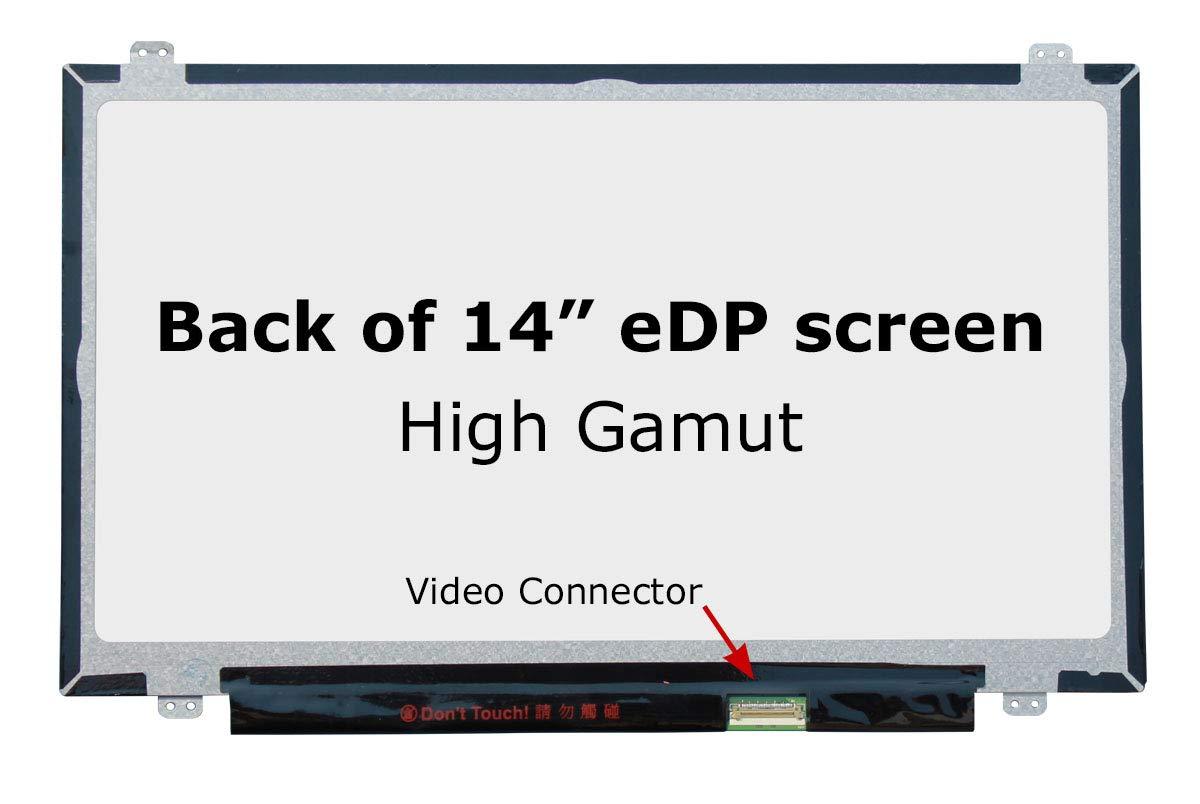 SCREENARAMA New LCD Screen for B140HAN01.3 1920x1080 FHD Gamut Matte Display Replacement with Tools by SCREENARAMA (Image #2)
