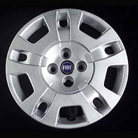 Wheeltrims Set de 4 embellecedores nuevos para Fiat Idea, con Llantas Originales de 15