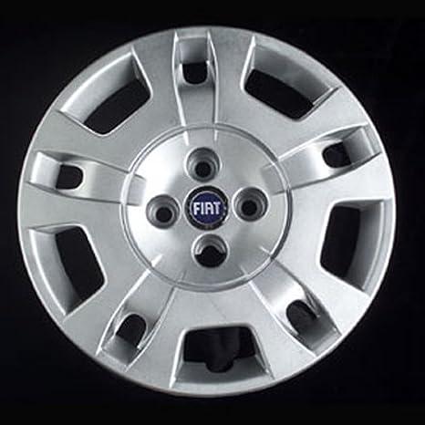 Wheeltrims Set de 4 embellecedores nuevos para Fiat Idea, con Llantas Originales de 15
