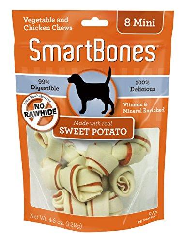 SmartBones Sweet Potato Chew pieces product image