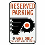 WinCraft NHL Philadelphia Flyers 11-by-17 Inch Locker Room Sign