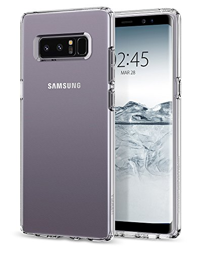 Spigen Liquid Crystal Galaxy Note 8 Case with Slim Protection and Premium Clarity for Galaxy Note 8 (2017) - Crystal Clear