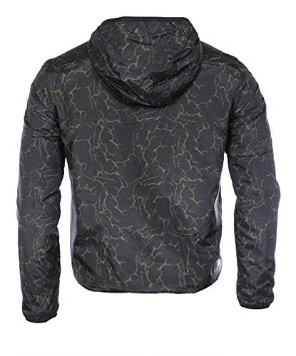 EA7 Armani Herren Mantel schwarz schwarz
