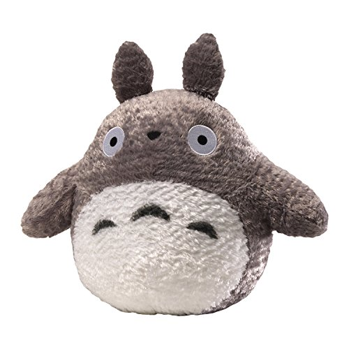 (GUND Fluffy Totoro Stuffed Animal Plush in Gray, 13