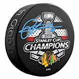 Patrick Kane Signed 2015 Stanley Cup Champions Chicago Blackhawks Puck
