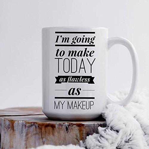 Makeup Addict | Sassy Mug Gift | Statement Mug | Boss Lady Mugs | Gift-for-Her | Large Coffee Mug | Best Friend Mug | Makeup Artist
