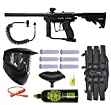 Spyder Kingman 2012 MR100 Diamond Black Paintball Marker Power Package