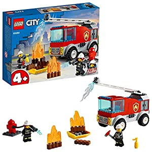 LEGO Fire Ladder Truck Building...