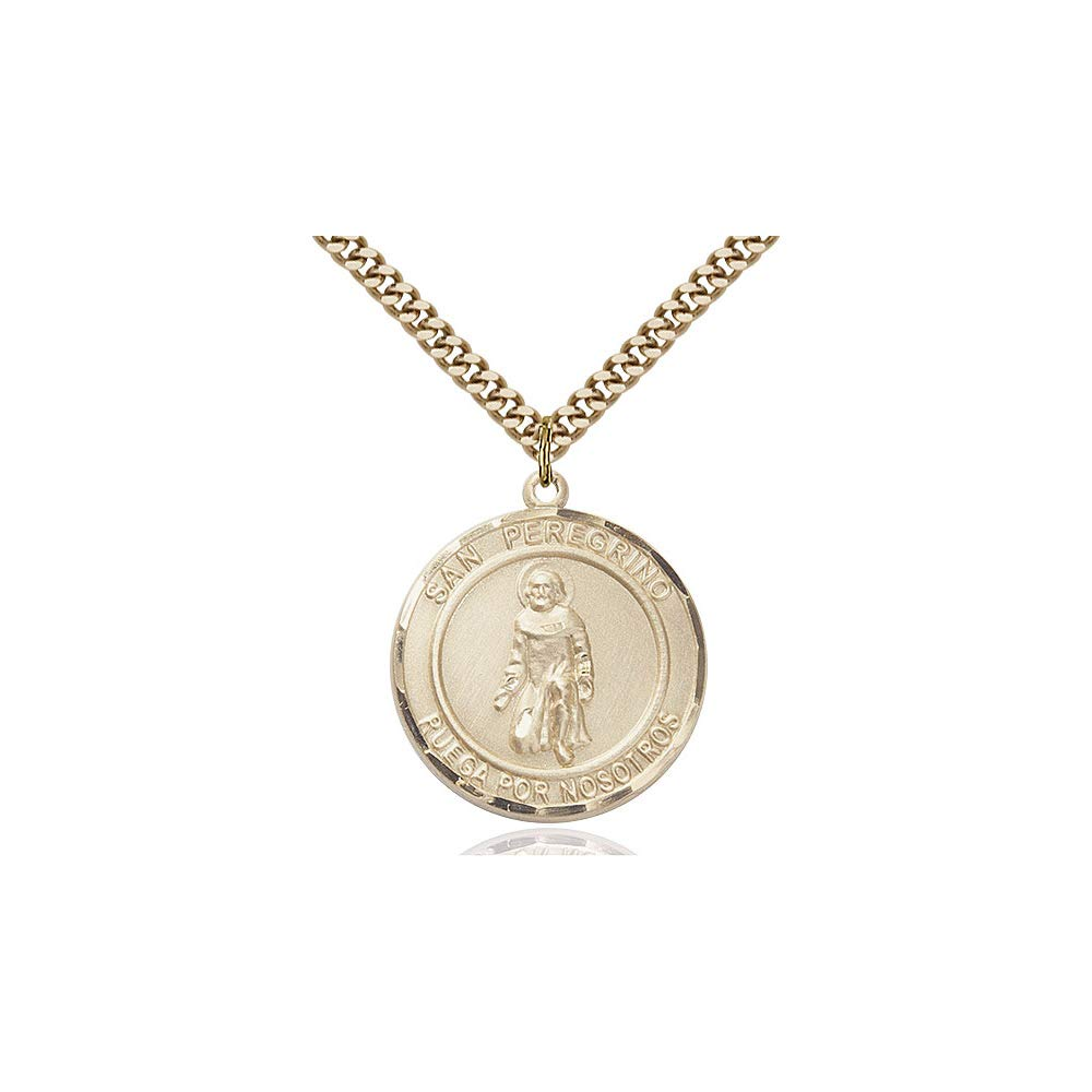 DiamondJewelryNY 14kt Gold Filled San Peregrino Pendant