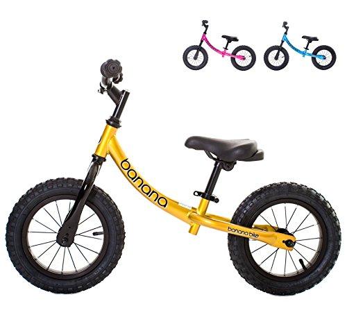 Banana Bike GT - Balance Bike for Kids (Candy Yellow)