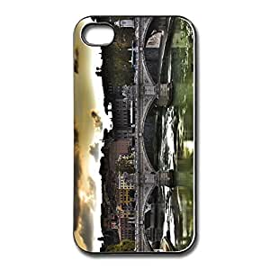 Popular Clear Ponte Vittorio Rome Iphone 4 Shell