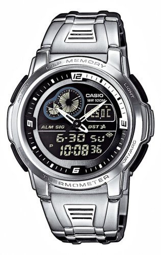 Casio AQF 102WD 1BVEF Digital Multifunction Bracelet