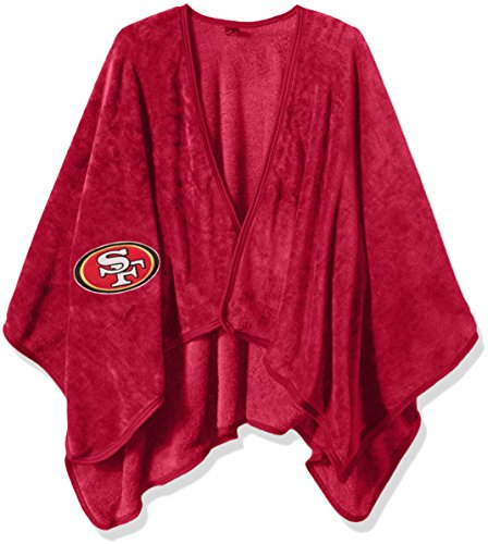 San Francisco 49ers Soft Blanket (Officially Licensed NFL San Francisco 49ers Silk Touch Throw Blanket Wrap with Applique)