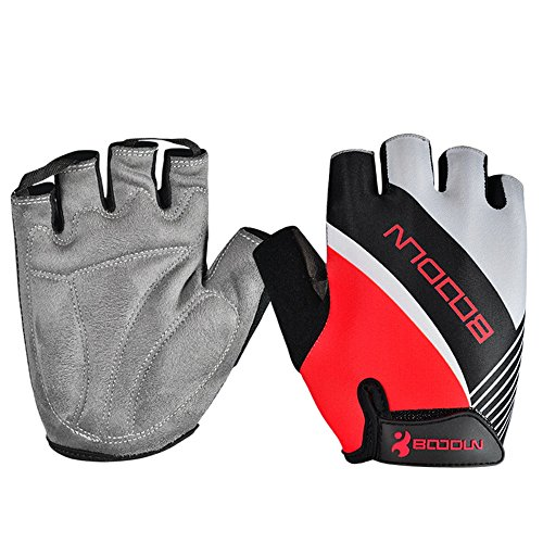 Anser 2130042 Riding Gloves Cycling Gloves Breathable Bike Gloves Sport Gloves for Children or Women (Red, XL)