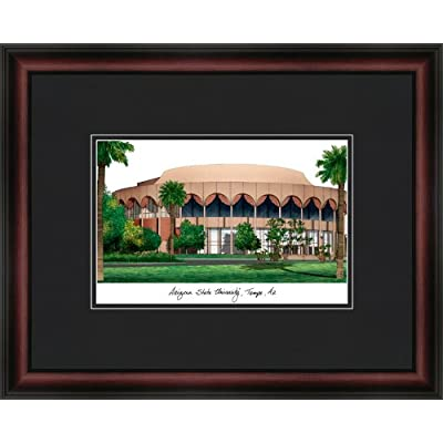 Image of Campus Images NCAA Arizona State Sun Devils Academic Framed Lithograph
