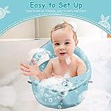 Xiaoqing Baby Plastic Bathtub Seat, Foldable Baby