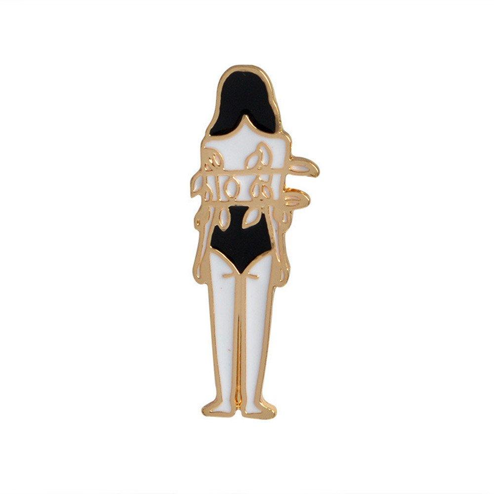 Mjartoria Carton Brooch Bijoux Broche Badge Style Nouveaux Bijoux pour D/écor V/êtement 7pcs