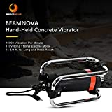 BEAMNOVA Hand Held Electric Concrete Vibrator 16000 VPM 60 HP w/14-3/4 FT. Long Shaft