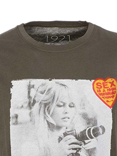 Coton 1921 1921ss08 shirt T Vert Homme xaTnzwAqWB