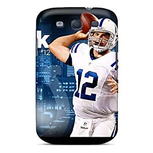 Excellent Galaxy S3 Case Tpu Cover Back Skin Protector Indianapolis Colts