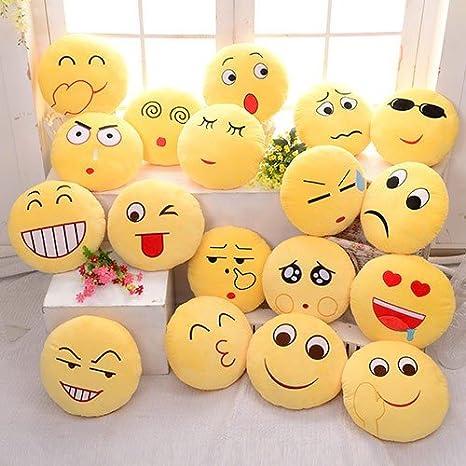 Rainbow Fox peluche /émotic/ône Emoji Jaune Emotions/ /Icon emojili Coussin Coussin d/écoratif floral d/écoratif Coussin Taupe Freude-zu-weinen