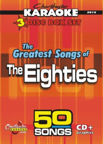 Karaoke: Greatest Songs of the Eighties (Chartbusters Cd)