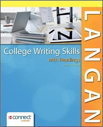 College writing skills with readings john langan 9780078036279 college writing skills with readings john langan 9780078036279 amazon books fandeluxe Choice Image