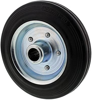 Llanta de acero, neumáticos de goma Chapa de acero Llanta para rueda jockey