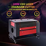 Orion Motor Tech 100W CO2 Laser Engraver Cutter 20