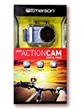 waterproof camera emerson - Emerson Go Action Cam PLUS 720p HD Digital Video Camera Pro Grade 5 MP Video with Screen