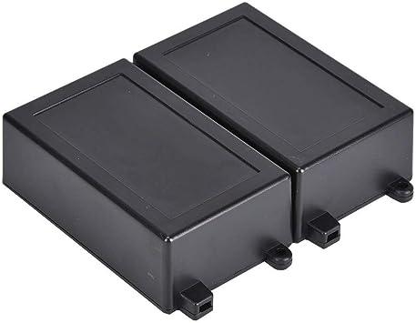 2 Unids/set Caja de Proyecto Electrónico, 100x62x35mm Caja de Proyecto Electrónica de Plástico Caja de Caja de Instrumento para Módulo de Relé de Placa de Circuito, Piezas Electrónicas: Amazon.es: Bricolaje y herramientas