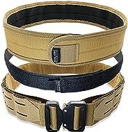 Bear Armz Tactical Battle Belt | Molle Riggers Belt | Duty Belt | Heavy Duty Anti-Slip Pad & Inner Belt Co