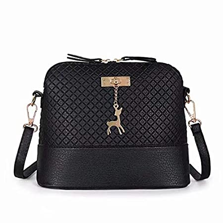 78761c9660 2018 Most Popular Women Vintage PU Leather Shoulder Bags Shell Model Handbag  (25   10   19cm)  Amazon.co.uk  DIY   Tools