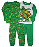 5t ninja turtle pajamas - Teenage Mutant Ninja Turtles Little Boy 4PC Long Sleeve Tight Fit Pajama Set 5T