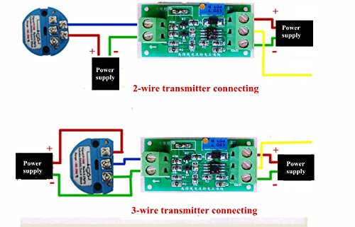 Voltage to Current Converter 0-5V to 0-20mA Current to Voltage 4-20mA to 0-5V