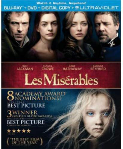 Les Misérables (2012) [Blu-ray] (Best Delivery Service Uk)