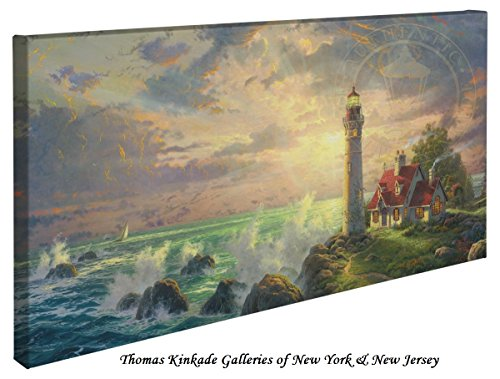 The Guiding Light - Thomas Kinkade Lighthouse