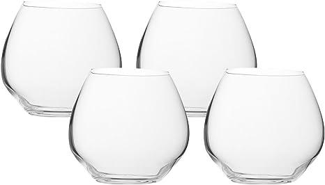 VANILLA SEASON Bohemia Cristal Juego de 4 vasos de cristal ...