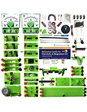 Elesoc STEM Physics Lab Electricity and Magnetism Kit for Students to Do Electric and Magnetic Experiments Universal Version