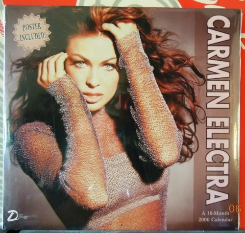 Carmen Electra: A 16-Month 2000 Calendar by Meadwestvaco