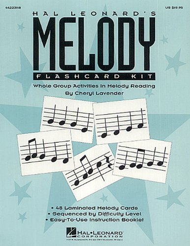 Hal Leonard's Melody Flashcard -