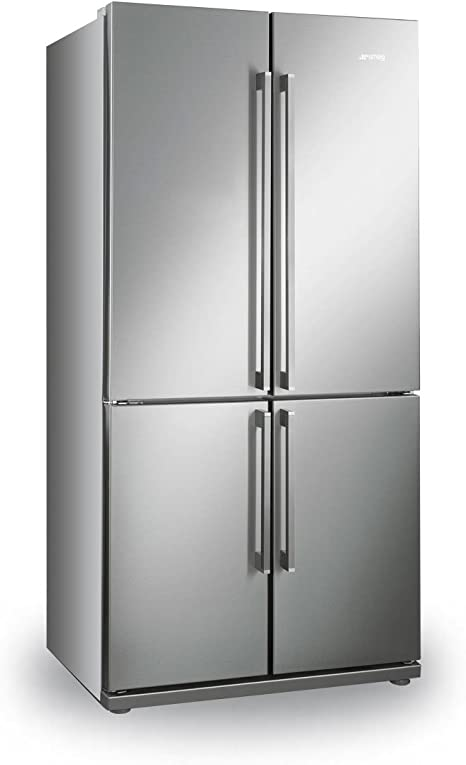 Smeg FQ60XP Independiente 539L A+ Acero inoxidable nevera puerta ...