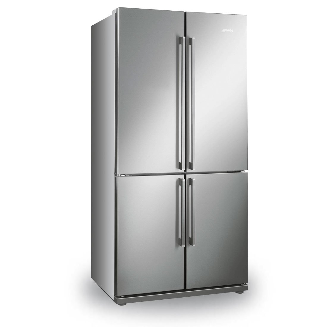What Is An American Fridge Freezer Part - 32: Smeg FQ60XP Stainless Steel 4-Door American Fridge Freezer With Convertible  Compartment