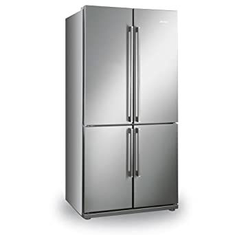 Smeg FQ60XP Independiente 539L A+ Acero inoxidable nevera ...