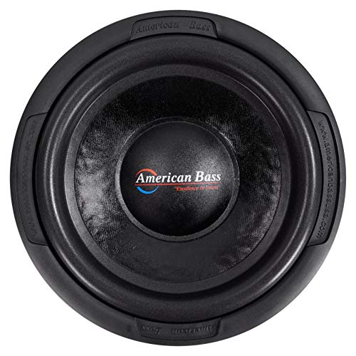 "American Bass Usa TNT 1244 1200W Max Dual 4Ω 12"" Subwoofer"